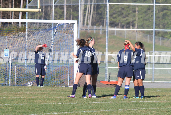 Sullivan West vs. Tri-Valley Girls Soccer 10-6-16
