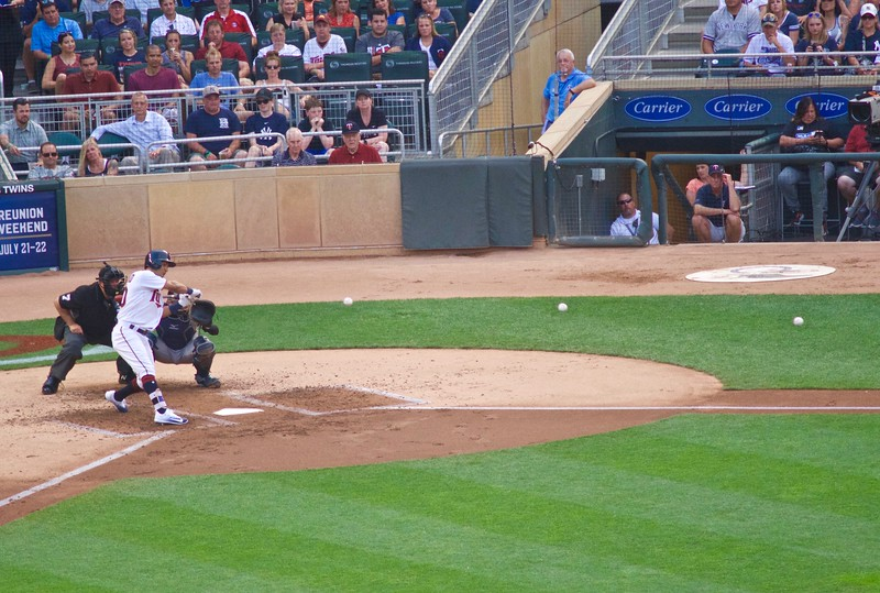 Rosario at bat