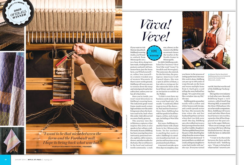 Mpls.St.Paul Magazine (MN, USA) Jan/Feb 2018 issue