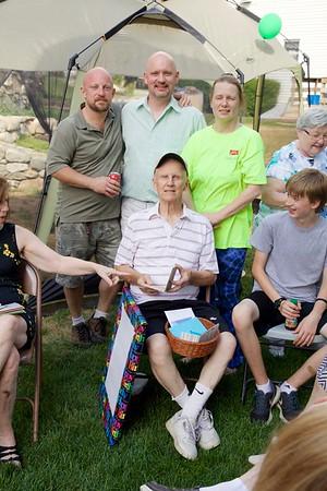 John Knowles 80th Birthday