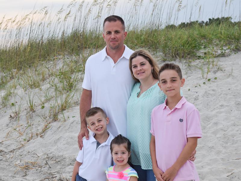 Horn Family Myrtle Beach 2015