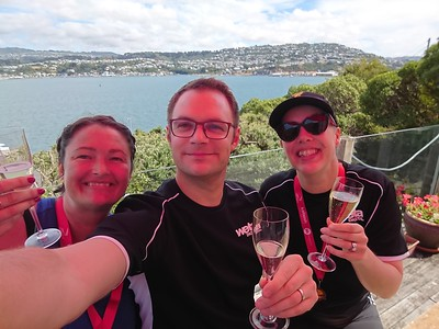 Round The Bays with Anna and Rose. 2019