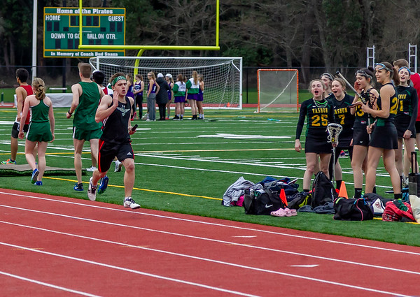 Track events Set seven, 4x400 meter relay: Track and Field Nisqually meet 2, 03/27/2019