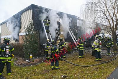 Apartments Building Fire - Peconic St, Ronkonkoma, NY - 01/01/21