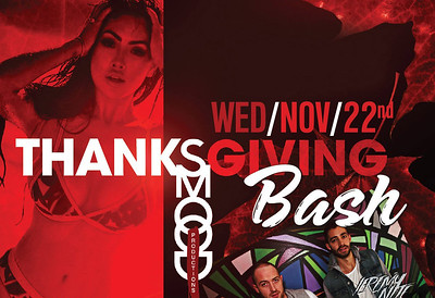 Masquerade Thanksgiving Bash 11/22/17