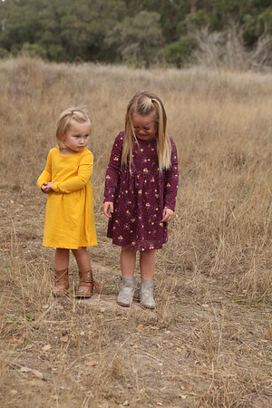 Madilynn and Kinsley Oct 2018