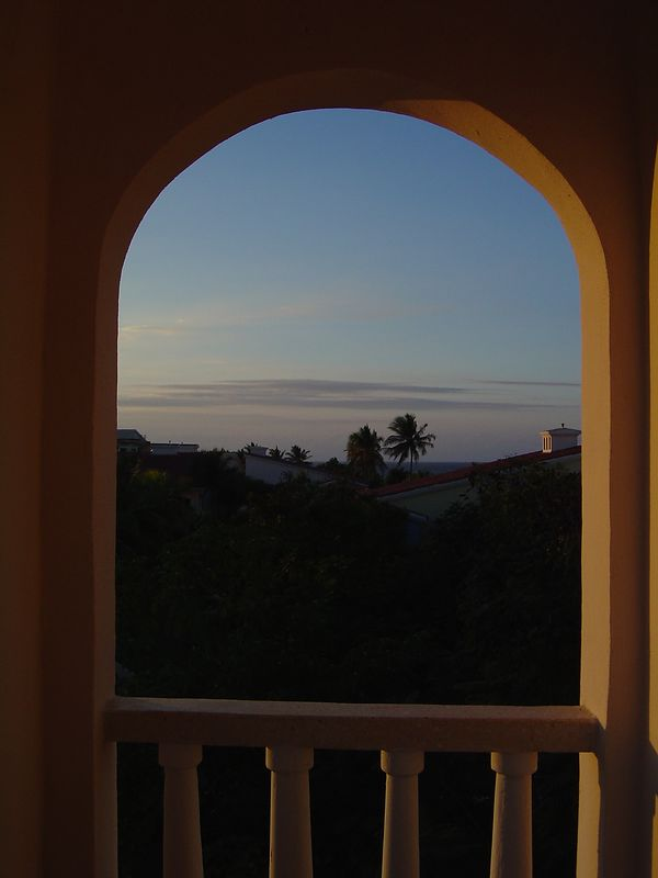 Sunset Arch -- Guardalavaca, Cuba