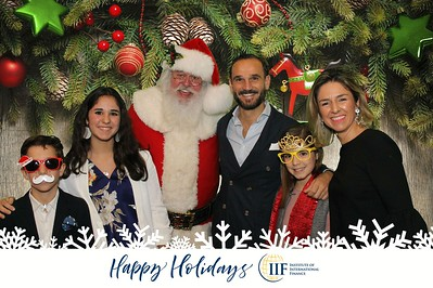 Institute of International Finance Holiday Party 2018
