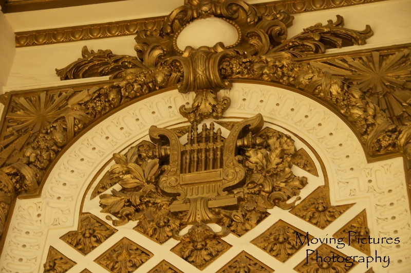 Music Hall - detail on stage right