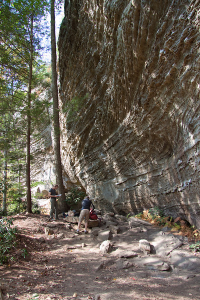Bibliothek in the Muir Valley an awesome 5.11 wall of pumpers