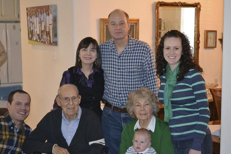 Bill Walker family, Thanksgiving