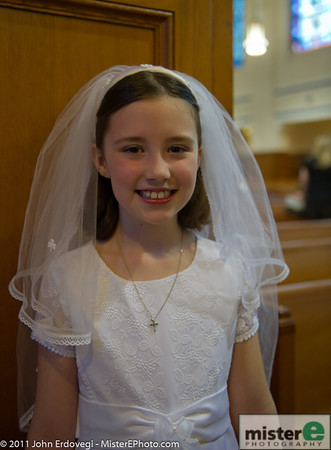 25 Makenzie's 1st Communion and Party