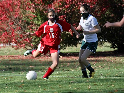 LTS JV Girls Soccer vs BBA photos by Gary Baker