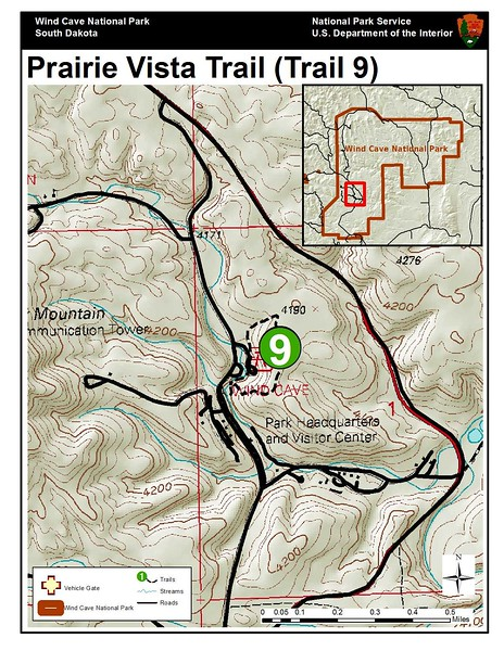 Wind Cave National Park (Prairie Vista Trail)