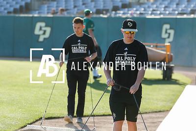 2018 Cal Poly Baseball vs LBSU Game1