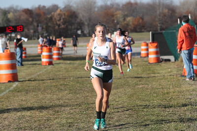 D2 Girls at 2 Miles Section 1 - 2020 MHSAA LP XC