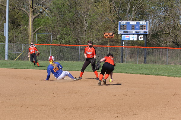 April 26, 2019 - Hillsboro Softball vs. Roxana