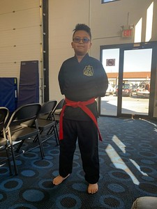 2019-11-16 Tre's Brown Belt Testing
