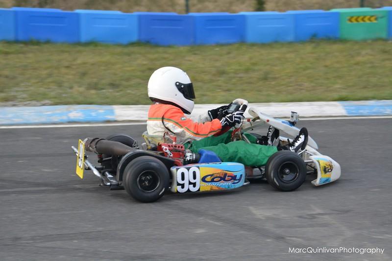 Irish Karting Club - Round 1 2013 - Alyx Coby