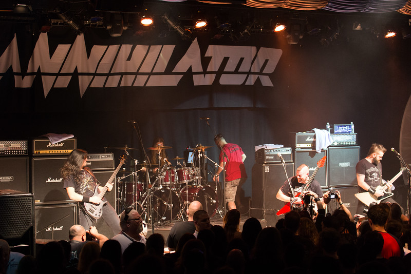 Annihilator, 70.000 tons of Metal