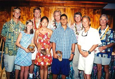 2001 Paddle Awards Banquet 7-23-2001