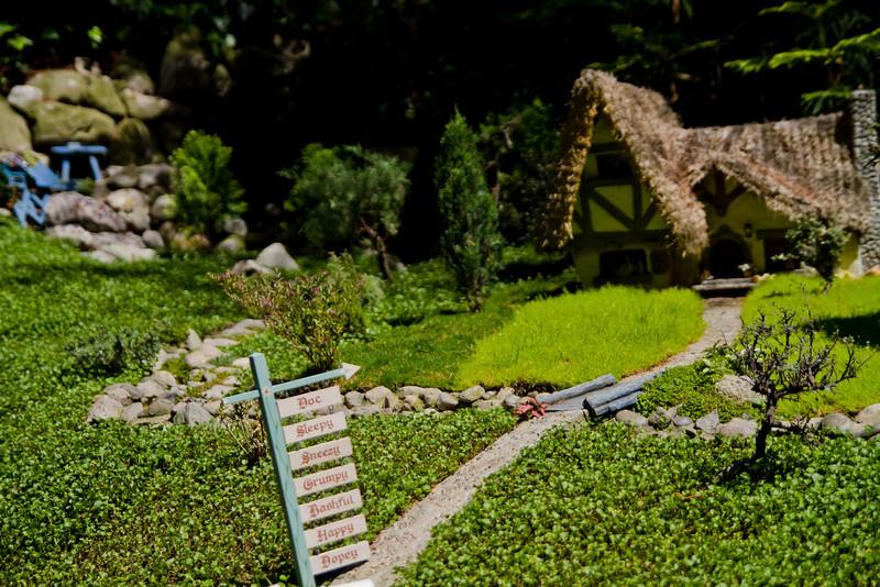 The Seven Dwarves Cottage in Storybookland