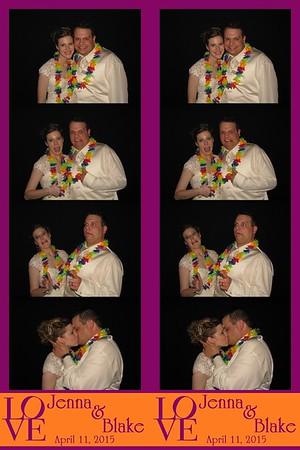Jenna and Blake April 11, 2015