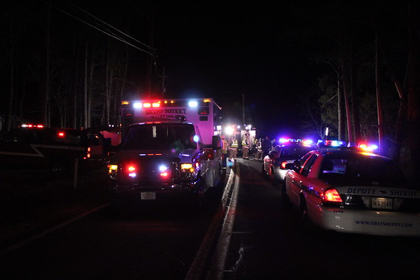 03/26/2011 - Crash W/Overturned Car - St. Georges Island