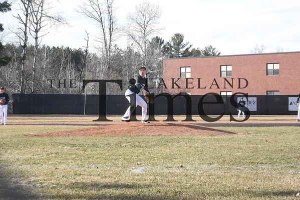 LUHS Baseball at Mosinee April 9, 2019