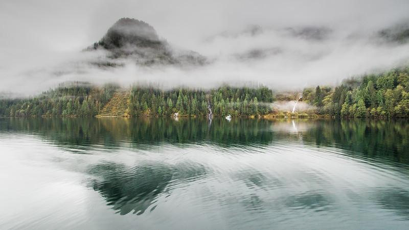 Dawn at Khutze Inlet