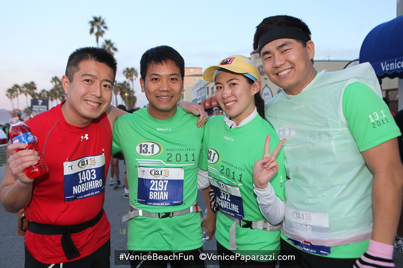 01.16.11 13.1  Marathon.   Thousands Take to Streets of Venice for 2nd Annual 13.1 Marathon® and Karhu 5K
