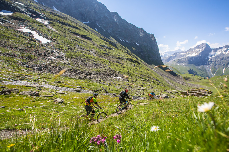 Sweet trails in the French Alps