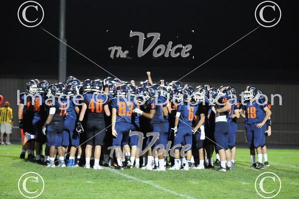 Geneva High School Football at Oswego High School in Oswego, Ill 8-31-13