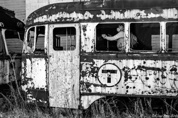 Trolley Graveyard November 2020 - Infrared
