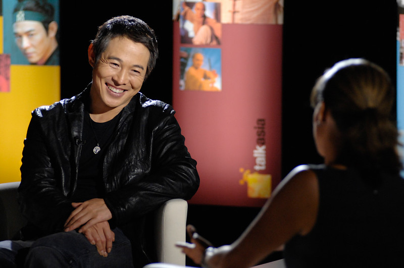 Jet Li on Talk Asia