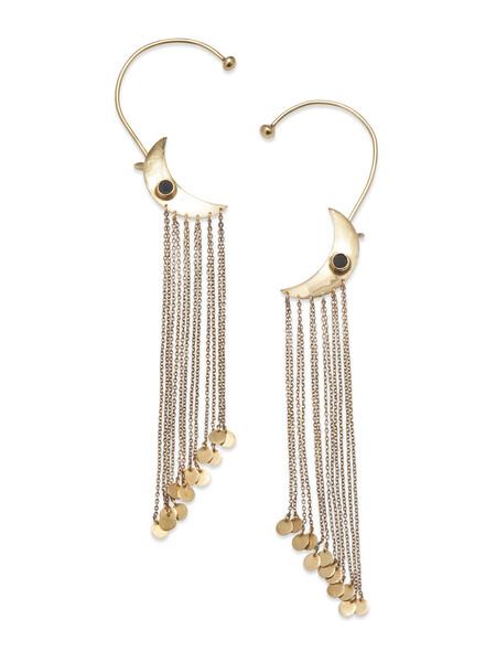 Moondust Golden Earrings