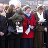 Relatives of the Kingsmills Victims at the 30th Anniversary Memorial Service in Bessbrook Town Hall 06W02N263