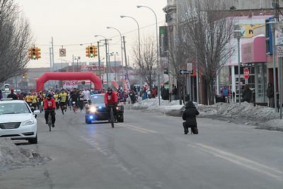 0.25 mile mark - 2014 Paczki Run