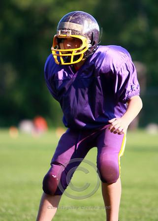 Junior Midget Football Practice 2008