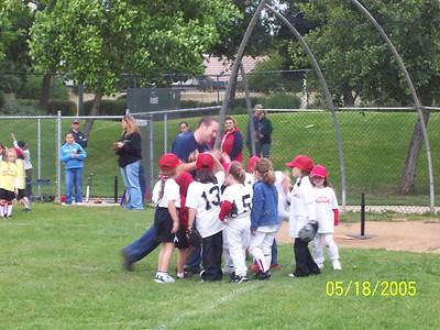 Jordyn's softball 2005