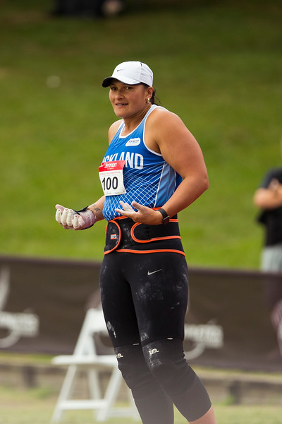 Dame Valerie Adams in action at the New Zealand Track and Field Champs. Hamilton New Zealand. Copyright photo: Alisha Lovrich / www.photosport.nz. Copyright photo: Alisha Lovrich / www.photosport.nz