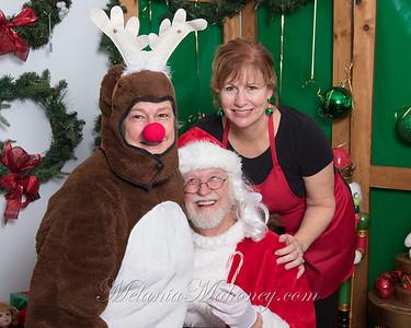Vintage House Santa 2019