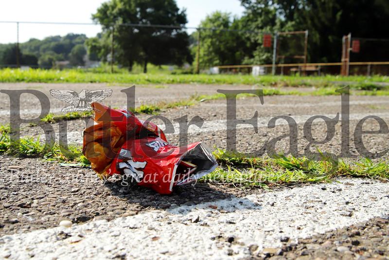 Father Marinaro Skate Park. Park cleanup story. 07/25/19 Seb Foltz/Butler Eagle