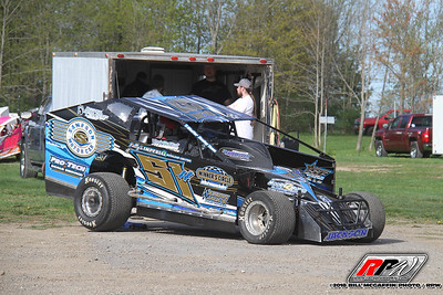 Glen Ridge Motorsports Park-Albany Saratoga / Glen Ridge Street Stock Challenge Series presented by Classic Muscle Parts-Bill McGaffin-5/13/18