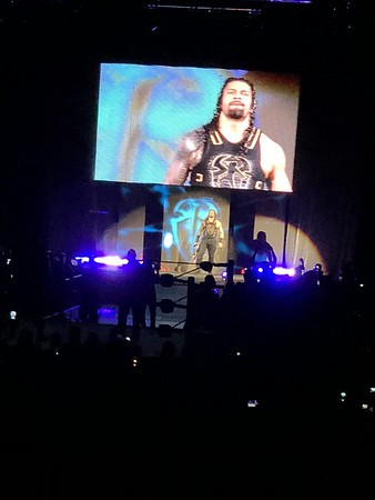 Roman Reigns - WWE Live Billings