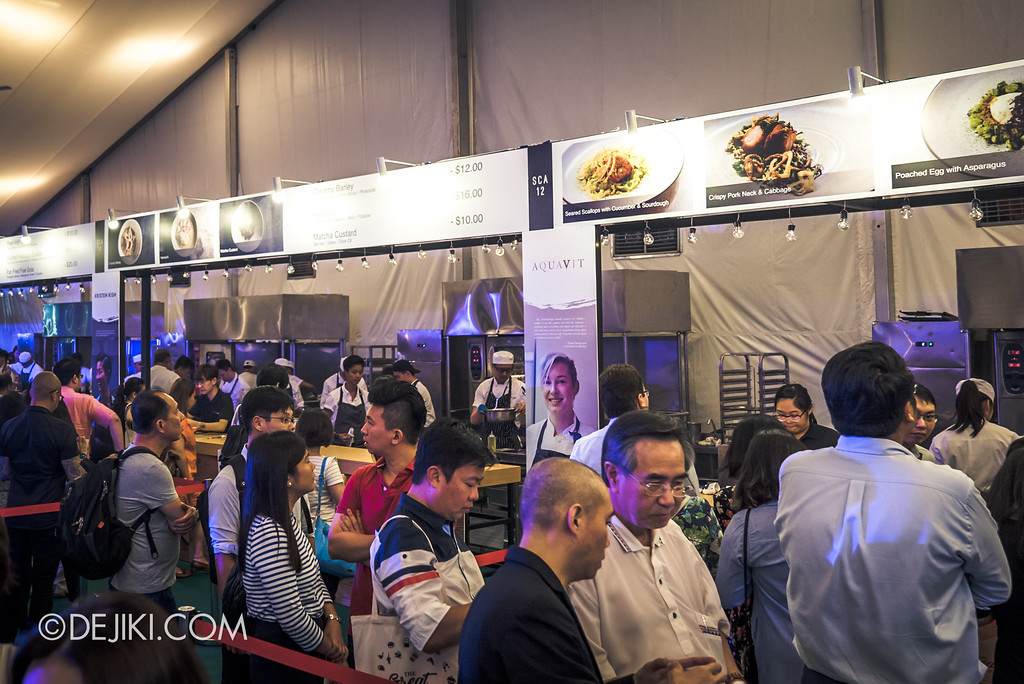 The Great Food Festival RWS - Celebrity Chef Area / Overview in SEA Aquarium