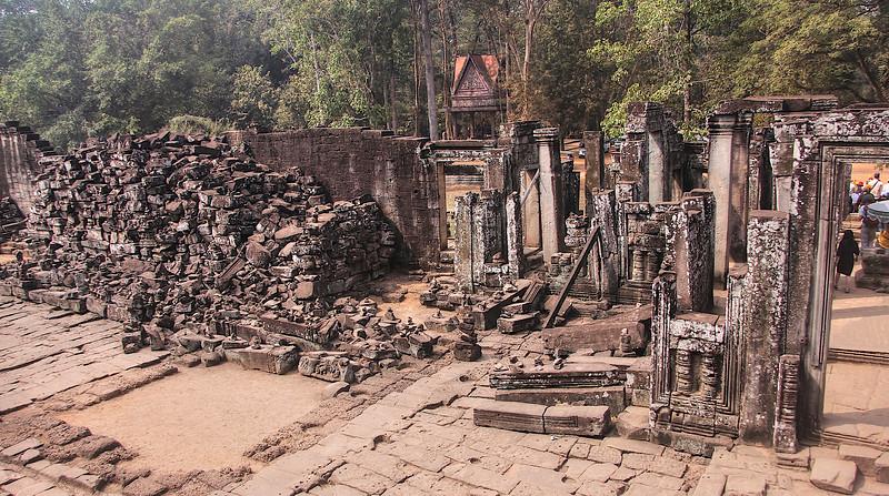 Ruins at Bayon Temple - Angkor Archaeological Park