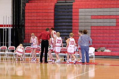 Girls Freshman Basketball - 2007-2008 - 12/17/2007 Coopersville