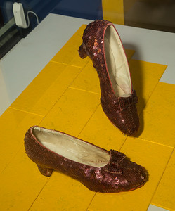 NMAH - Dorothy's Ruby Slippers Kick off Second Smithsonian Kickstarter Campaign (10/17/16)