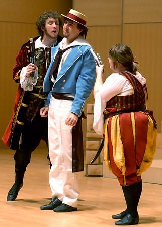 Piratey Dress Rehearsals